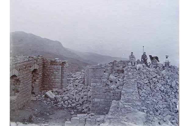 The remains of the piquet at Saragarhi. (© Charles Eve)