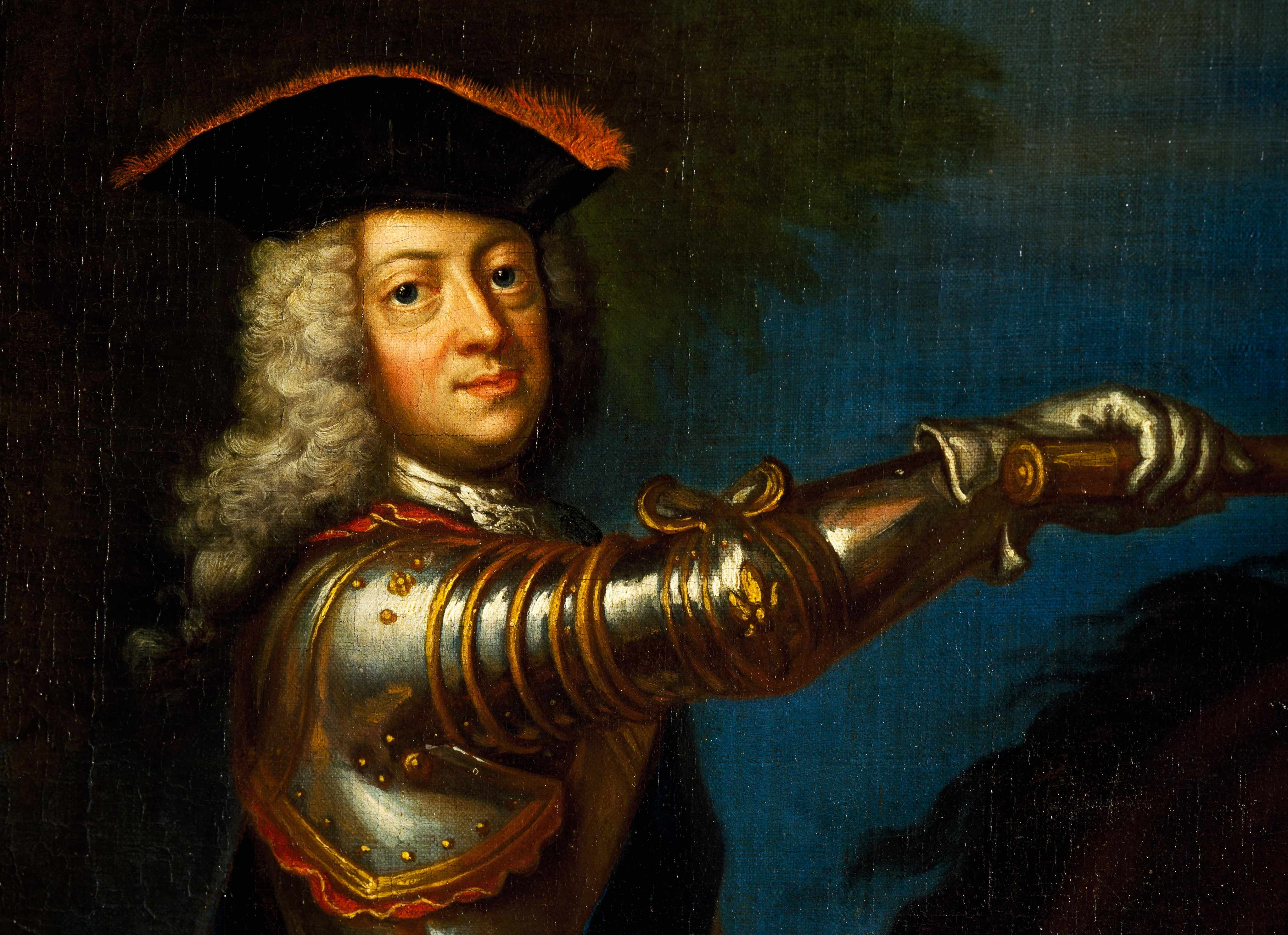 Painting of George I