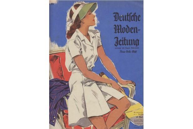 An illustration from a German fashion magazine, c1941.