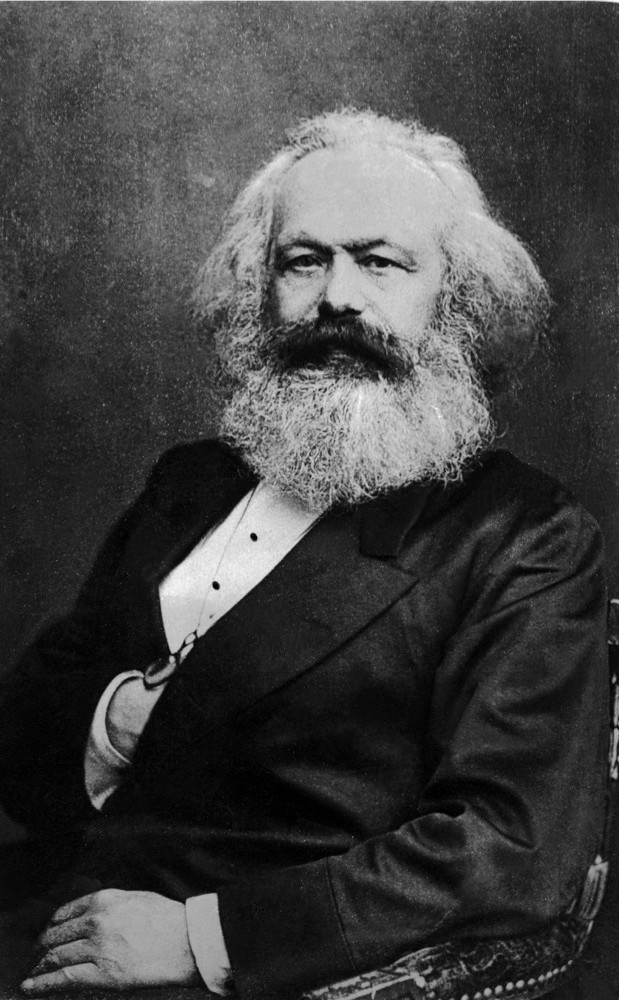 A 19th-century portrait of German philosopher Karl Marx, a revolutionary and sociologist whose work includes 'The Communist Manifesto'. A fictional Marx features in 'The Limehouse Golem' as a murder suspect. (Keystone France/Getty Images)