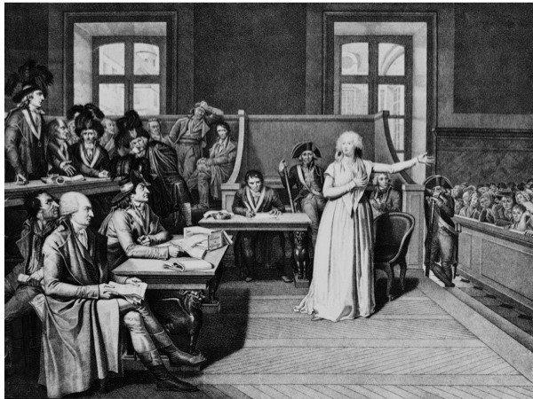 Marie Antoinette on trial. (Keystone-France/Gamma-Keystone via Getty Images)