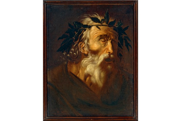 A portrait of Homer, the presumed author of epic poems the 'Odyssey' and the 'Illiad'. (De Agostini/Getty Images)