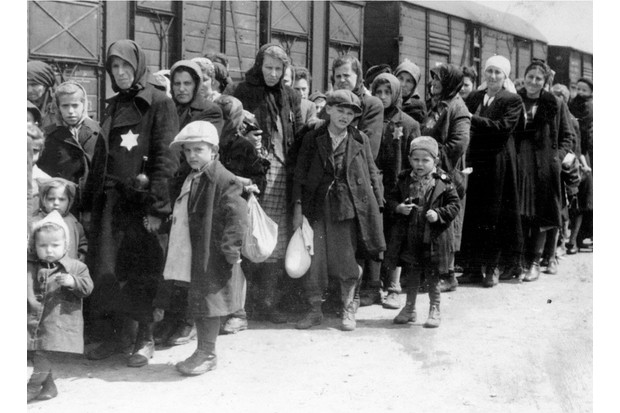 Arrival of a deportation train bringing Hungarian Jews to Auschwitz death camp in Poland, circa 1942. Auschwitz-Birkenau (1940-1945) was the largest of the German Concentration and Extermination camps. 1.1 million people, 90 per cent of them Jews are thought to have died there most of them in the gas chambers. (Photo by Universal History Archive/Getty Images)