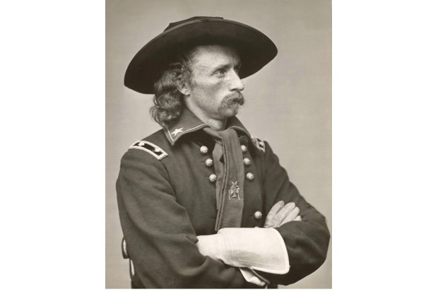 UNSPECIFIED - CIRCA 1865: George Armstrong Custer (1839-1876) United States Army office and cavalry commander in American Civil War and Indian Wars. Defeated and killed at Battle of Little Bighorn in what is called Custer's Last Stand. Photograph. (Photo by Universal History Archive/Getty Images)