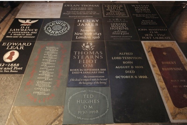 Memorials in Westminster Abbey's Poets' Corner. (Dan Kitwood/Getty Images)