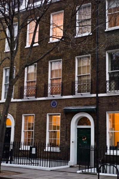 The Charles Dickens Museum on Doughty Street. (David Levenson/Getty Images)