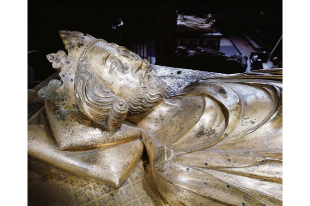 The tomb of Henry III at Westminster Abbey, commissioned by his son Edward I at the end of the 13th century. (Photo by Werner Forman/Universal Images Group/Getty Images)