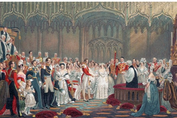 Victoria and Albert's wedding