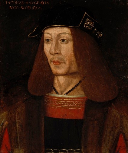 James IV of Scotland. We know that alcoholic spirits were drunk by the very rich since 1500, as the king is known to have purchased several barrels of whisky. (Photo by National Galleries Of Scotland/Getty Images)
