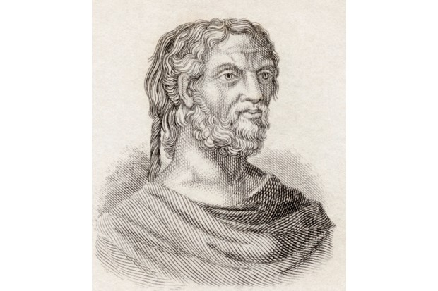 Thucydides, a historian in Ancient Greece whose work 'History of the Peloponnesian War' was the first recorded political and moral analysis of a nation's war policies. (Universal History Archive/Getty Images)