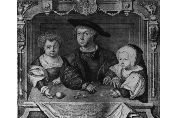 The children of Henry VII