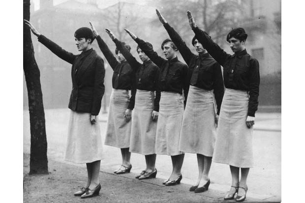 Female Blackshirts in Liverpool