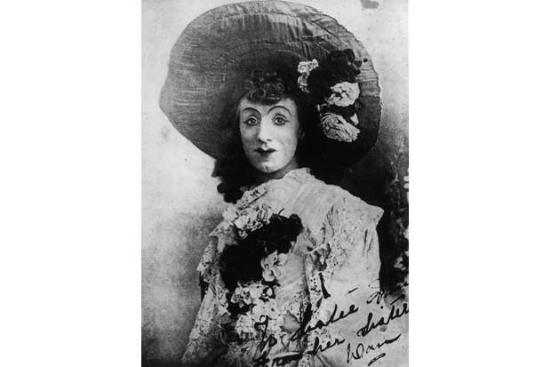 Dan Leno, a popular 19th-century English entertainer