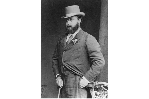 1870: Queen Victoria's son, Albert Edward, Prince of Wales (1841 - 1910). (Later King Edward VII). (Photo by J. Russell & Sons/Hulton Archive/Getty Images)