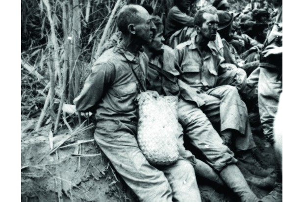 American and Filipino prisoners of war during the 1942 Bataan Death march