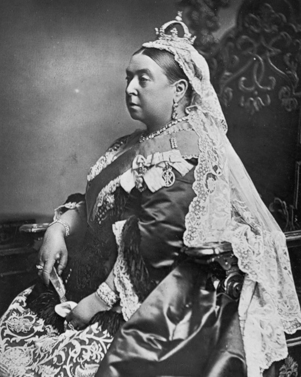 A photograph of Queen Victoria c1887. (Alexander Bassano/Spencer Arnold/Getty Images)
