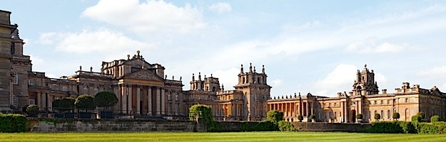 OXFORDSHIRE, UNITED KINGDOM - 2009/05/31: Panoramic Image of Blenheim Palace. (Photo by Olaf Protze/LightRocket via Getty Images)