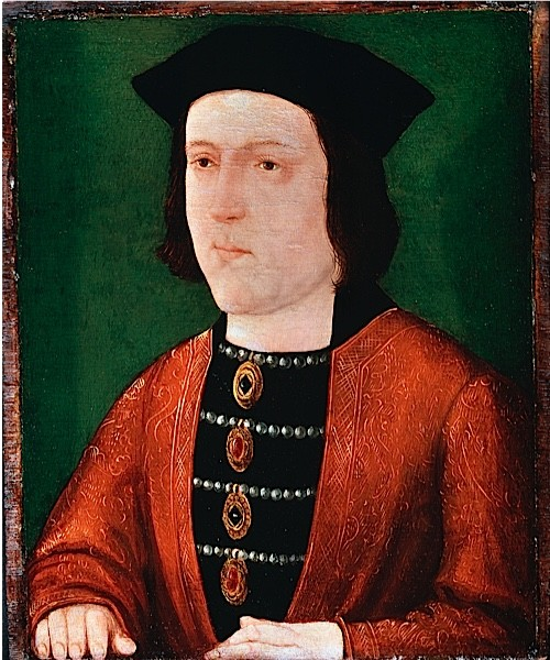 An image of Yorkist king Edward IV from 1540.