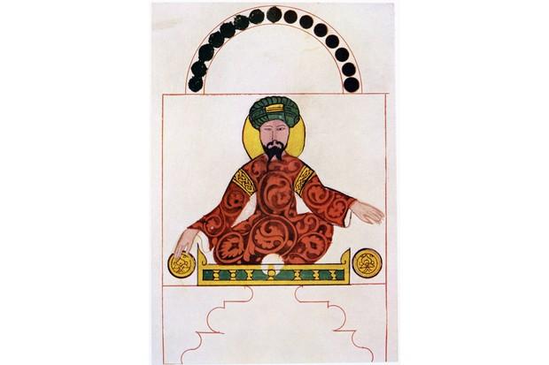 Illustration of Saladin