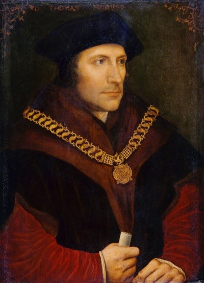 Thomas More's version of history erased the name of Eleanor Talbot, says historian John Ashdown-Hill. (Photo by English Heritage/Heritage Images/Getty Images)
