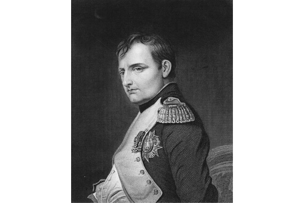 A portrait of Napoleon Bonaparte on 1 June 1815 in Paris, France. An engraving by Samuel Freeman from a painting by Paul Delaroche. (Photo by Hulton Archive/Getty Images)