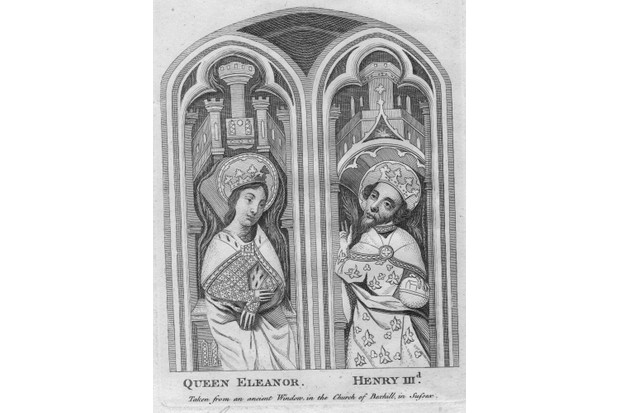 Eleanor of Provence became queen of England when she married Henry III. (Photo by Hulton Archive/Getty Images)