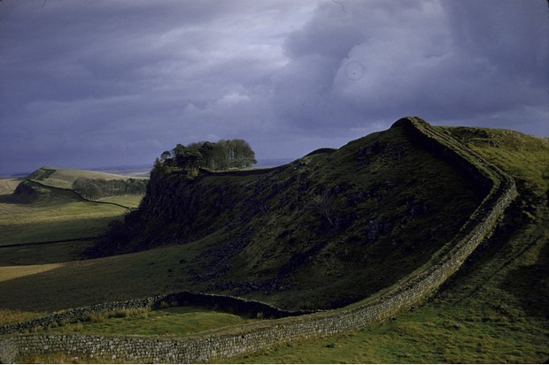 George RR Martin has stated that Hadrian's Wall in northern England was the inspiration for the Wall which separates Westeros from the North. (Photo by Dmitri Kessel/The LIFE Picture Collection/Getty Images)