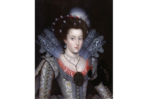 Elizabeth Stuart, the daughter of King James I. Nine years old at the time of the plot, Elizabeth was a key target of the plotters, says John Cooper. Portrait by an unknown artist, 1613. (VCG Wilson/Corbis via Getty Images)