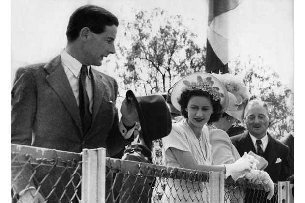 Tens of thousands of people were in favour of a union between Princess Margaret and Group Captain Peter Townsend, royal historian Robert Lacey found. The two are pictured here during a royal tour of South Africa in 1947. (Photo by ullstein bild/ullstein bild via Getty Images)