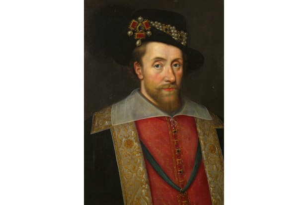 King James I of England and Scotland (1566-1625). (Imagno/Getty Images)