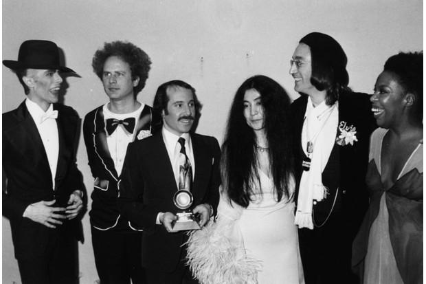 David Bowie at Grammy Awards, 1975