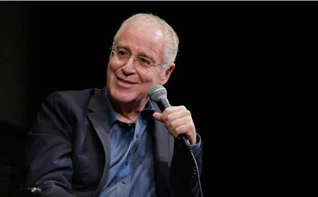 Ron Chernow, biographer of Alexander Hamilton, talks at The Film Society in Lincoln Centre, New York. (Photo by John Lamparski/Getty Images)