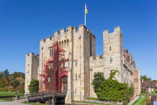 Hever Castle, Anne Boleyn's childhood home in Kent. (Photo by Prisma Bildagentur/UIG via Getty Images)