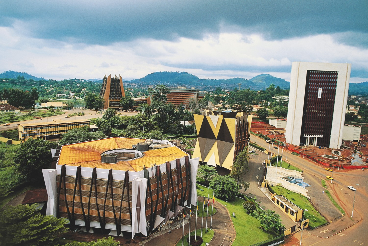 A view over Yaoundé, Cameroon