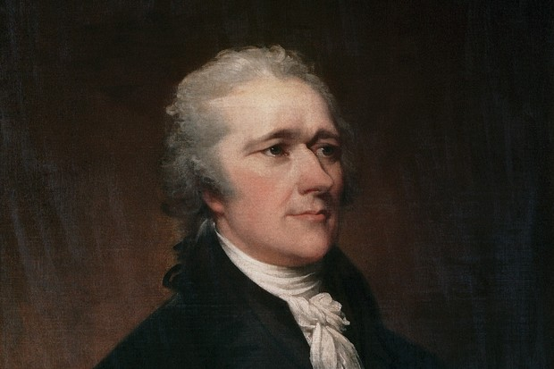 Alexander Hamilton by John Trumbull. (Photo by Francis G. Mayer/Corbis/VCG via Getty Images)