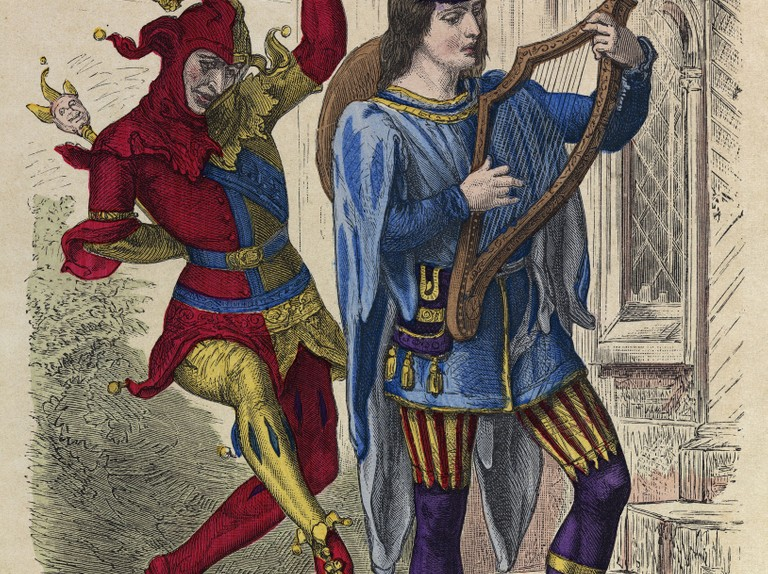 Image result for jester singing in renaissance painting