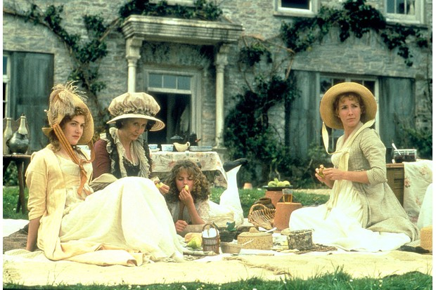 The cast of 1995 film Sense and Sensibility
