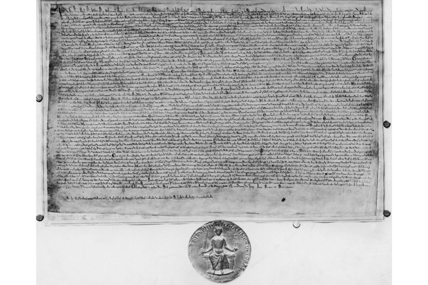 Subject: Magna Carta and Seal of King John Mansell Time Life Owned Merlin-1139690