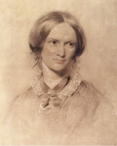 An 1850 drawing of Charlotte Brontë by George Richmond. (Getty Images)