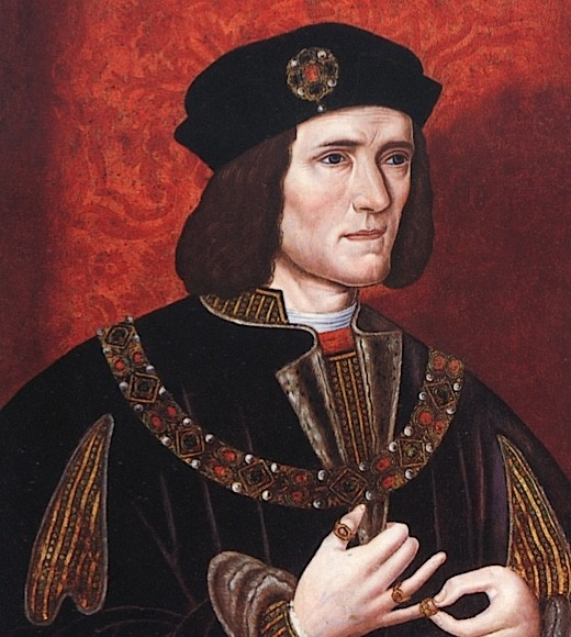 A painting of Richard III, by an anonymous artist.