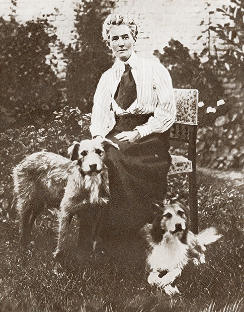 Edith Louisa Cavell, 1865 – 1915. British Nurse And Patriot, Executed By The Germans For Helping Allied Soldiers Escape From German-Occupied Belgium During World War I. From The Story Of 25 Eventful Years In Pictures, Published 1935. (Photo by: Universal History Archive/UIG via Getty Images)