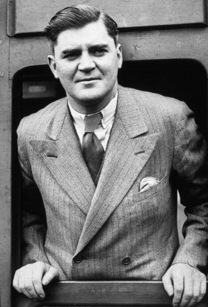 20th June 1934:  Welsh Labour politician Aneurin Bevan (1897 - 1960).  (Photo by New York Times Co./Getty Images)