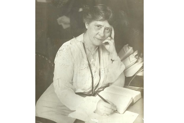 Grace Humiston was nicknamed 'Mrs Sherlock Holmes' by the American press. (Image courtesy of Brad Ricca)