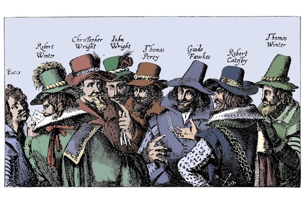 Gunpowder plotters. (Getty Images)