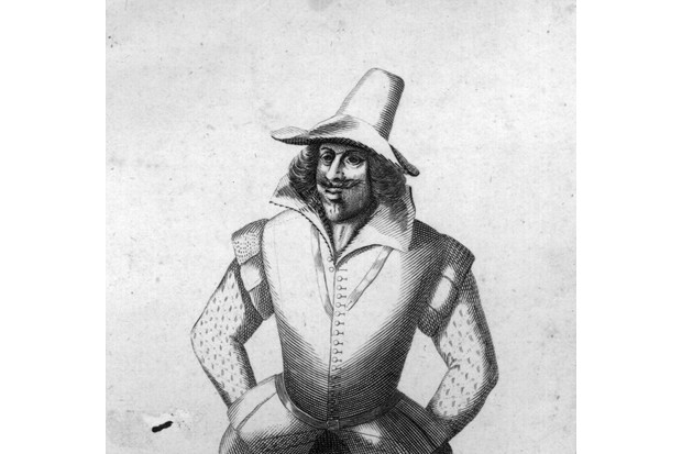 Guy Fawkes, c1606. (Photo by Hulton Archive/Getty Images)