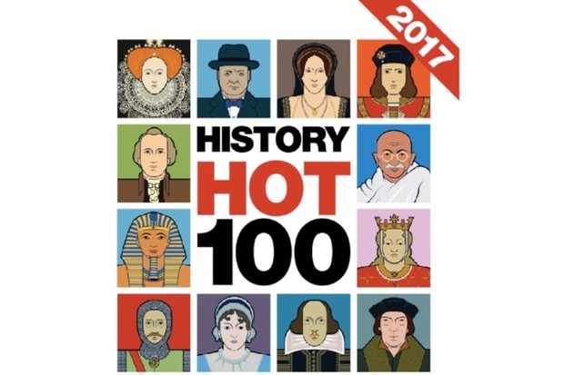 History Hot 100 results: the historical figures who fascinated you most in 2017