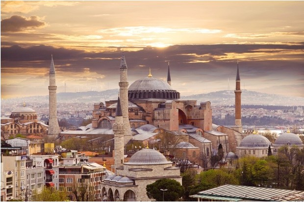 The Hagia Sophia. (Photo by Serhii Liakhevych/Dreamstime.com)