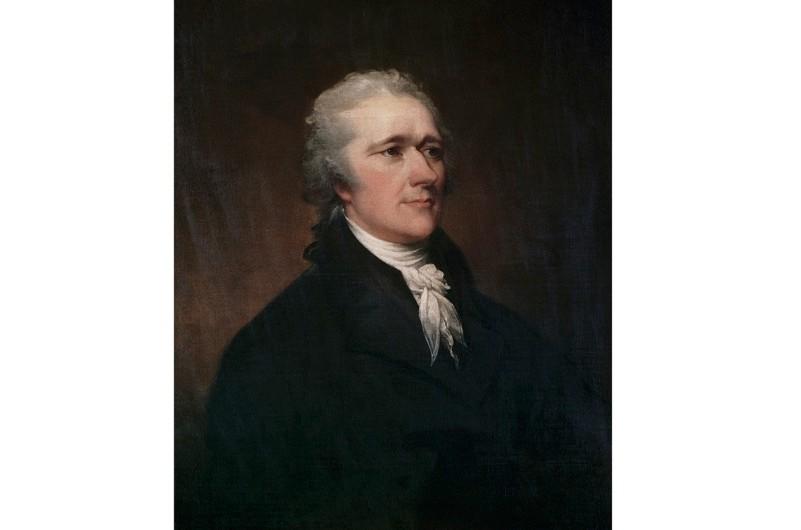 Alexander Hamilton by John Trumbull (Photo by Francis G. Mayer/Corbis/VCG via Getty Images)