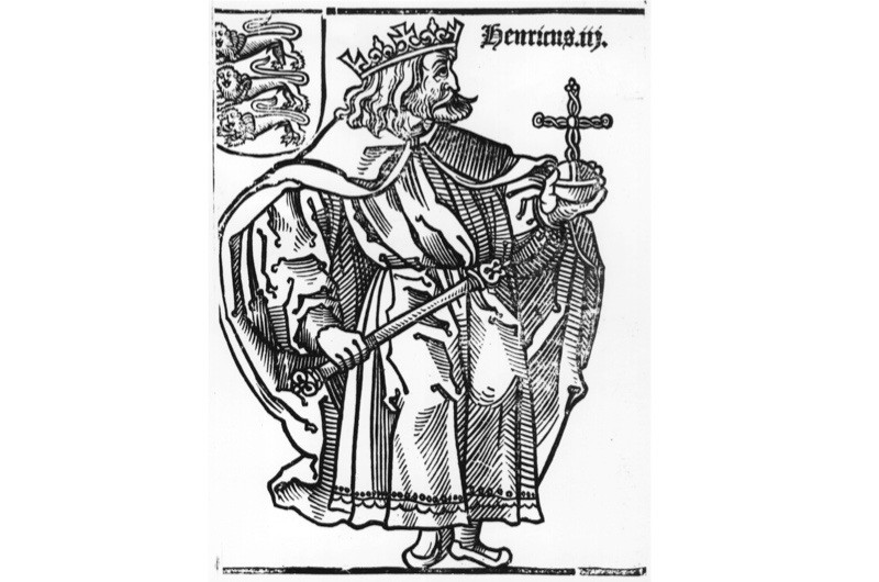 Henry III (1207-72), king from 1216 until his death. Image c1250. (Photo by Hulton Archive/Getty Images)
