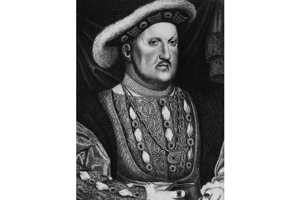 Henry VIII c1530. Engraving after a painting by Hans Holbein. (Photo by Hulton Archive/Getty Images)